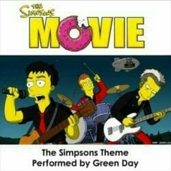Green Day The Simpsons Theme