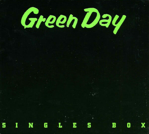 Green Day Singles Box