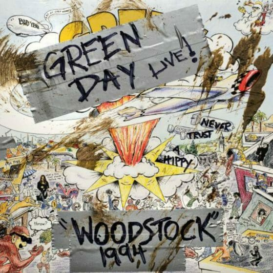 Green Day Live! Woodstock 1994 Vinyl (Record Store Day 2019)