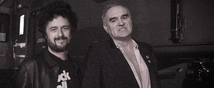 Billie Joe Armstrong with Morrissey