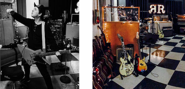 Billie Joe Armstrong at RubyRed Productions