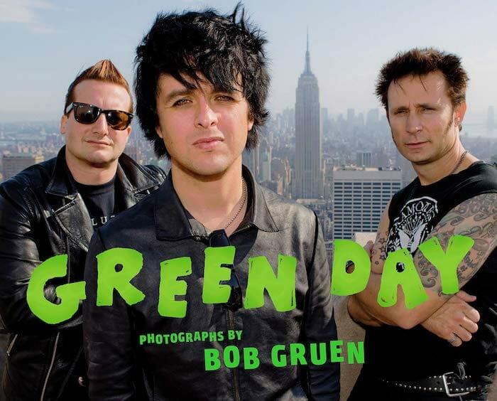 Green Day photo book by Bob Gruen
