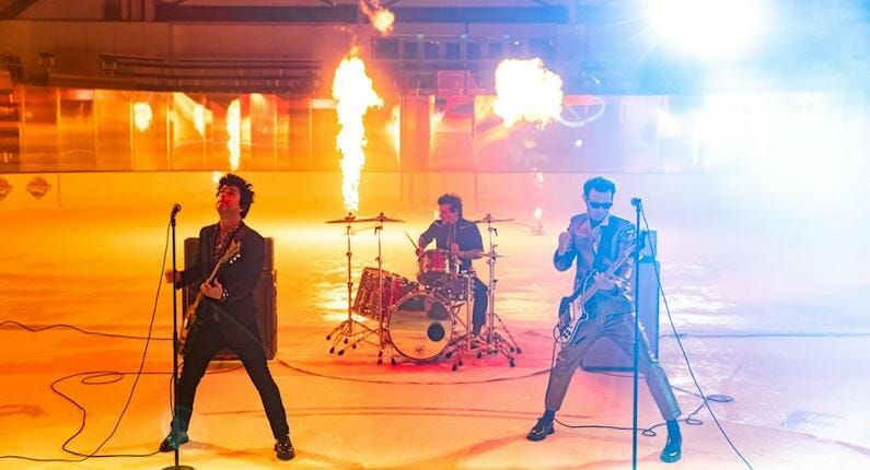 Green Day partners with the NHL