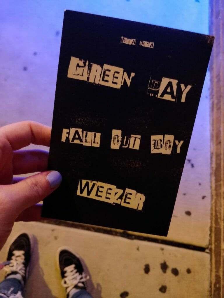 Hella Mega Tour flyer