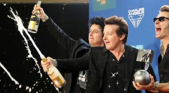 Green Day Win MTV EMA's 'Best Rock' Award