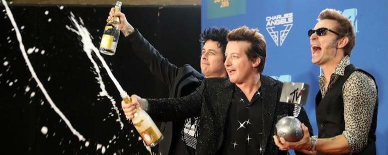 Green Day Win MTV EMA's 'Best Rock' Award