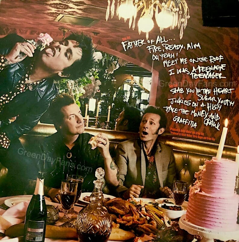 Green Day Father Of All Tracklist