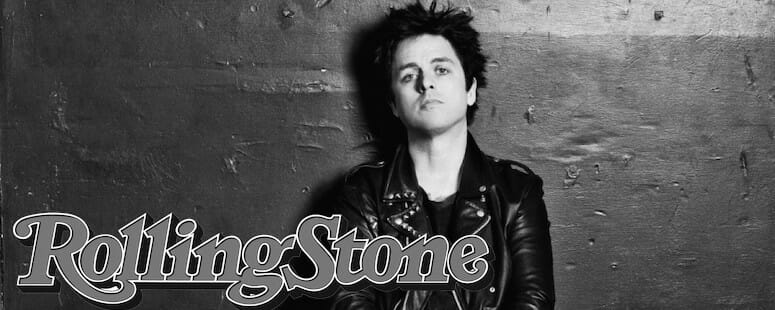 Billie Joe Armstrong in Rolling Stone