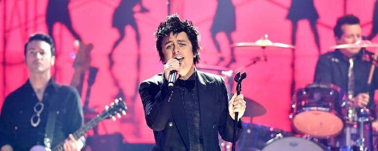 Green Day on Dick Clark's New Year's Rockin' Eve 2019