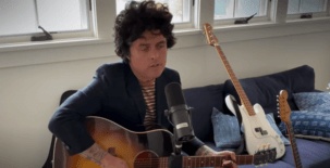 Watch: Billie performs 'Wake Me Up…' on COVID benefit