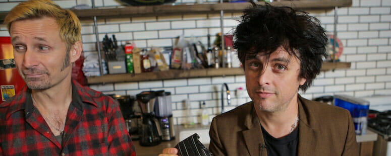 Billie Joe Armstrong pays tribute to Mike Dirnt on No Fun Mondays cover