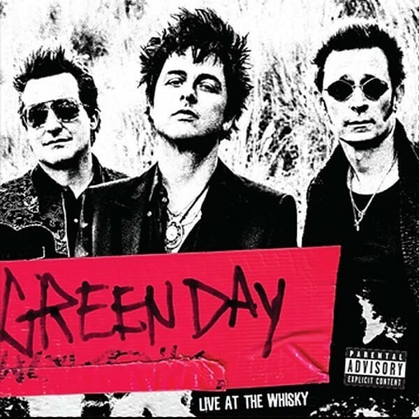 Green Day Live At The Whiskey 7""