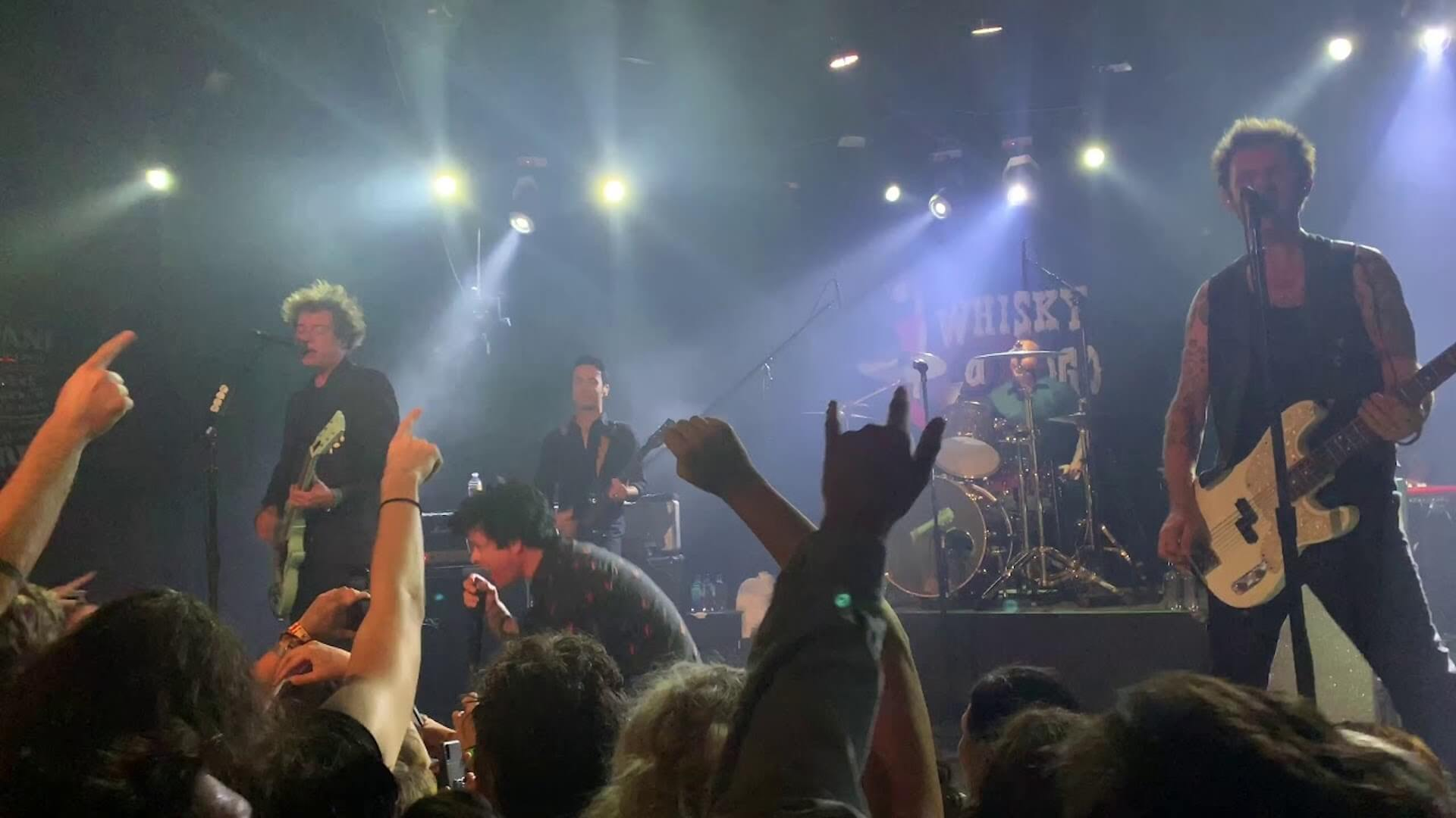 Green Day live at the Whiskey A Go Go
