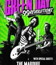 Green Day Concert Poster - 2013