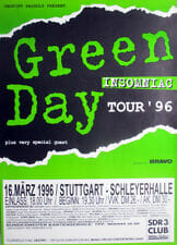 Green Day Concert Poster - 1996