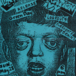 Green Day Concert Poster - 1989