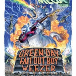 Green Day Concert Poster - 2020