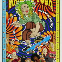 Green Day Concert Poster - 2000