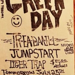 Green Day Concert Poster - 1992