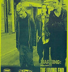 Green Day Concert Poster - 2001