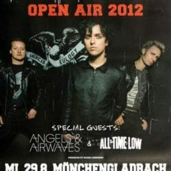 Green Day Concert Poster - 2012