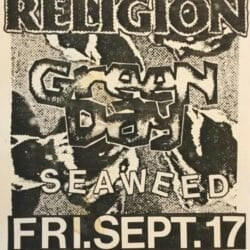 Green Day Concert Poster - 1993
