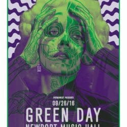 Green Day Concert Poster - 2016