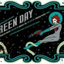 Green Day Concert Poster - 2005