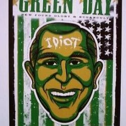 Green Day Concert Poster - 2004