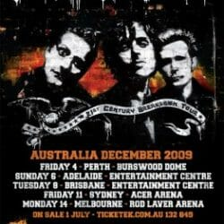 Green Day Concert Poster - 2009