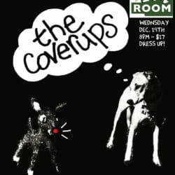 Coverups Concert Posters - 2018