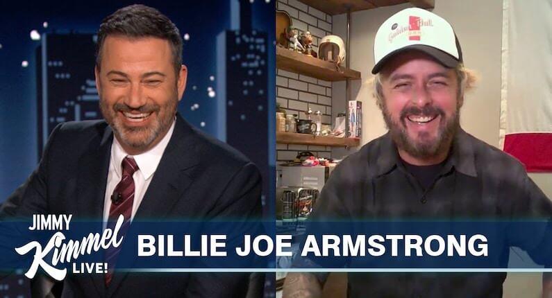 Billie Joe Armstrong joins Jimmy Kimmel Live