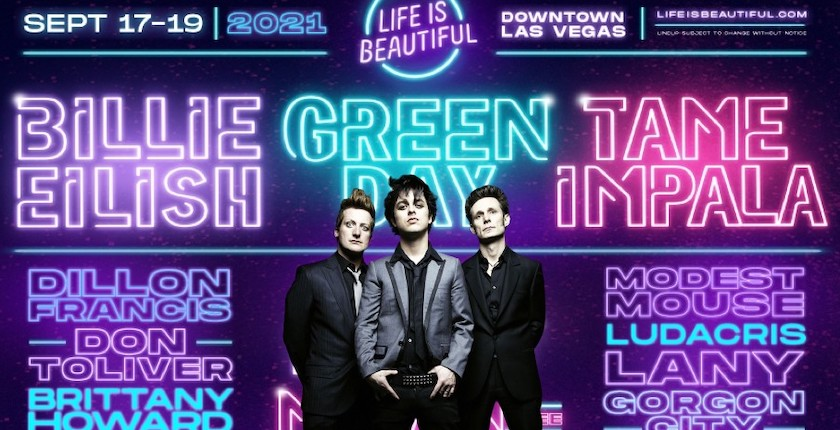 Green Day @ Life Is Beautiful
